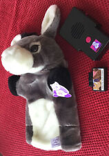 Dusty the Donkey Hand Puppet by puppetteller includes one cartridge. Vgc