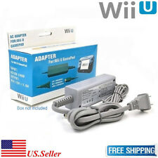 Fosmon AC Power Supply Charging Adapter Cable Cord For Nintendo Wii U Gamepad AP
