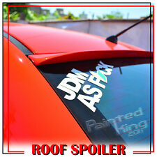 Painted For Rear Roof Lip Spoiler Wing PUF Audi A4/ B6 K-Style Sedan 02-05