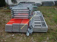 Gerüst Gerüstbau NEU Typ Plettacgerüst Plettac  Stahlramen Stahlböden 75 qm NEU
