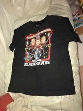 CHICAGO BLACKHAWKS 2010 STANLEY CUP CHAMPIONS CARICATURE T SHIRT XL REEBOK
