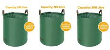 More details for garden waste bags large heavy duty refuse sacks with handles 100/200/300 litres