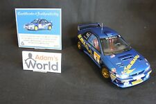 AutoArt Subaru Impreza S4 WRC '98 1:18 #1 Bourne / Vincent Saxon Safari (JvdM)