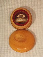 Ancien Petit Reliquaire Agnus Dei en Buis N°1