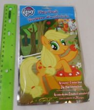 My Little Pony Play Pack w/ 4 Crayons, Sticker Sheet, Mini 24-page Coloring Book
