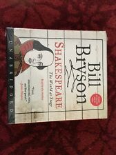 Shakespeare The World As Stage By Bill Bryson On CD Unabridged New In Package