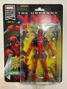 Marvel Legends Retro Deadpool Hasbro X-men Vintage X-force NIB MIB