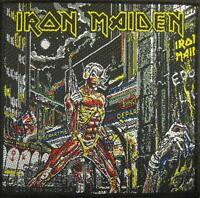 IRON MAIDEN AUFNÄHER / PATCH # 39 SOMEWHERE IN TIME