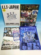 SUPER JUNIOR JAPAN FAN CLUB E.L.F MAGAZINE 1 2 3 4 5 6 7 8 SET