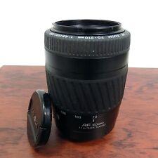 Minolta Camera Lens & Caps AF Zoom 70-210mm 1.1/3.6ft 1:4.5 (22) - F:5.6 Macro