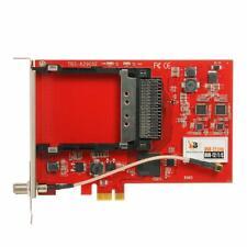 TBS6290 DVB-T2/T/C Dual Tuner Dual CI PCIe Card