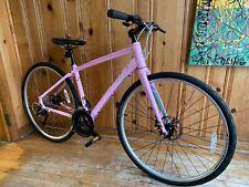 "Fuji Silhoutte 1.7 Powder Pink Flat Bar Road Bike 17"" Medium"