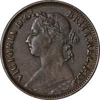 Great Britain Farthing 1881 KM #753 VF