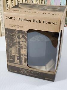 NEW! Outdoor Ultrasonic Dog Bark Control AntiBarking Device-CSB10