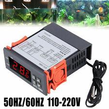 Temperaturregler Mit Fühler Thermostat 220V Digital Temperaturschalter -50~100°C