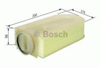 Luftfilter - Bosch F 026 400 133