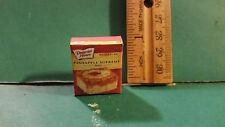 Barbie 1:6 Kitchen Food Miniature Handmade Box of Pineapple Supreme Cake Mix