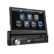 New Soundstream VIR-7830B 1 DIN DVD/CD/MP3 Player Flip-Out Up Screen Bluetooth