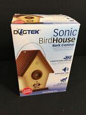 Dogtek Indoor Outdoor Sonic Birdhouse Bark Control