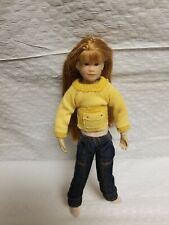Only Hearts Club 2004 Freckled Face Redheaded Small Doll