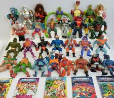 HUGE LOT of 29,1980s Vintage He-Man Collection MOTU Masters of the Universe