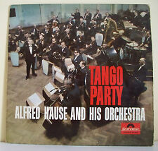 """33 tours ALFRED HAUSE HIS ORCHESTRA Disque LP 12"""" TANGO PARTY - POLYDOR 237658"""