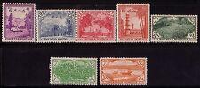 Pakistan: 1954; Scott 66-72 1 Val Thin, Hinged, Rust Stain. EBPK03