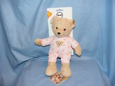 Steiff Baby Teddy And Me In Pink Pyjamas New Baby Girl 241659 Gift Present