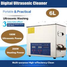 6L Digital Ultraschallreiniger Ultrasonic Ultraschallreinigungsgerät Edelstahl´.