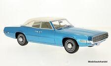 FORD THUNDERBIRD LANDAU 1968 metallico-Blu/Bianco 1:18 BOS