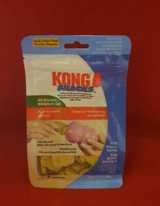 KONG Snacks - All Natural Dog Biscuits - SMALL  - Chicken & Rice EXPIRY 16/11/22
