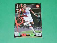 NOLAN ROUX STADE BREST FOOTBALL FOOT 2011 TRADING CARD PANINI 2010-2011