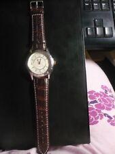 Herren Armbanduhr NAVOX mit Batterie und Lederarmband