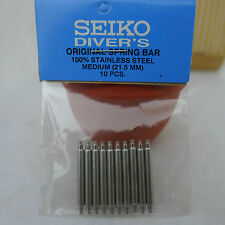 SEIKO FAT SPRING BARS FOR 20mm LUG MEDIUM SIZE SEIKO DIVER'S WATCH