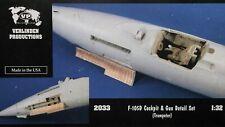 1/32 F-105D Thunderchief Cockpit & Gun Detail Set for Trumpeter VERLINDEN #2033