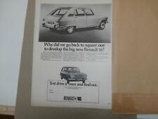 Renault 16 1966..Original advert.
