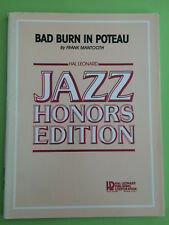 Bad Burn In Poteau, Frank Mantooth, Big Band Arrangement