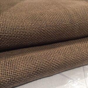 ❤️ RESTORATION HARDWARE 50 x 96 Open Weave Sheer Linen Drapery Panel MOCHA $129