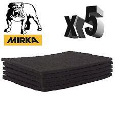 Mirka Mirlon Scotch Brite - Grey Ultra Fine Hand Pads - Pack of 5