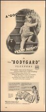 "1948 Vintage ad for ""Bodygard"" sleepers Utica Knitting Co. Art retro     111418)"