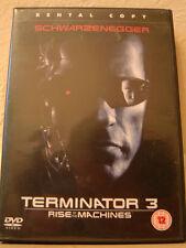 ARNOLD SCHWARZENEGGER IN TERMINATOR 3-RISE OF THE MACHINES DVD 2003 GREAT FILM
