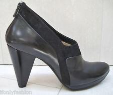 COSTUME NATIONAL Platform Zipper Booties Shoes 39