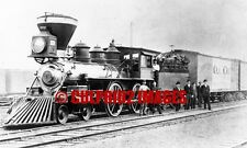 Classic American 4-4-0 O&C RR Oregon & California Railroad #1250 Crew