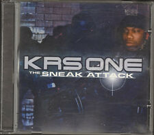 KRS 1 ONE Sneak Attack NEW CD  19 track  2001