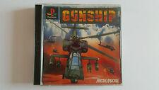 GUNSHIP / jeu Playstation 1 - PS one / complet / PAL