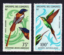 More details for comoros islands 1967 sg64/5 birds - high values of set - unmounted mint. cat £35