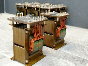 PARTRIDGE OUTPUT TRANSFORMERS P5358/1 PRIMARY 5K PUSH PULL 300B TUBE AMPLIFIER