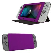 Orzly Stand and Type Case Cover for Nintendo Switch - Purple
