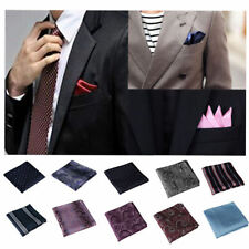Satin Floral Handkerchiefs for Men