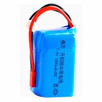 7.4V 2S 1800mAh 20C LiPO Battery for JST plug WL A959-b A969-b A979-b K929-B RC